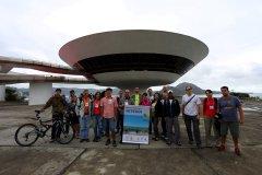Museu de Arte Contemporânea de Niterói/RJ e participantes do Encontro
